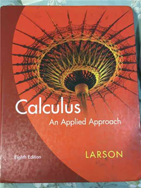 Calculus an Applied Approach (8th ed.)