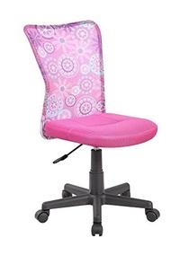 EuroStile Adjustable Kids Desk Chair Mid-Back Ergonomic Mesh Swivel Computer Office Desk Task Chair