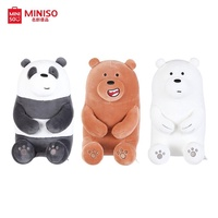 Miniso We Bare Bears - Lovely Sitting Plush Toy