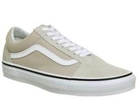 반스 Vans Old Skool Trainers Silver White