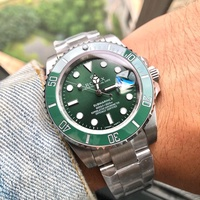 瑞士TEVISE特威斯 男士手錶正品經典鋼帶水鬼豪華石英手錶