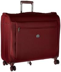 DELSEY Paris Delsey Luggage Montmartre Spinner Garment Bag Suit Or Dress, Bordeaux Red