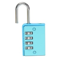 4 Digit Combination Home Door Toolbox Lock Luggage Suitcase Padlock