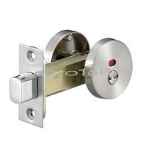 《EZset》 幸福牌日規LJ20S30型系列 輔助鎖 補助鎖 門鎖 浴廁門用(無鑰匙) 銀色