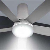 "Panasonic LED 5 Blades Ceiling Fan F-M15GW (60"") For Sale"