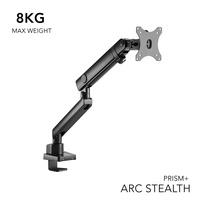 PRISM+ ARC Stealth Single Monitor VESA Monitor Arm