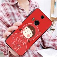 大紅喜慶 手機殼 HTC D12 PLUS d10 發財D825/D10 Lifestyle u19e 全包手機殼