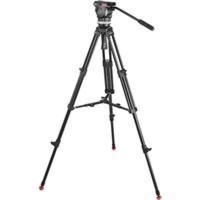 Sachtler 1001 Ace M MS System with Ace M Fluid Head, Tripod, Mid-Level Spreader, Bag, Camera Mounting Plate, Pan Bar