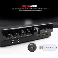 3.5mm USB Wireless Bluetooth4.0+EDR Music Audio Stereo Receiver Adapter Dongle S