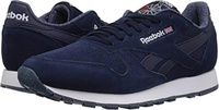 Reebok Lifestyle Men's Classic Leather NM College Navy/White 4 D US