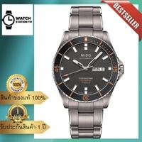 MIDO Ocean Star Captain Automatic Men's Watch รุ่น M026.430.44.061.00 - TITANIUM แท้100% รับประกันศูนย์ 1 ปี