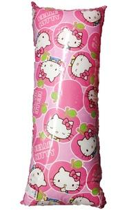 【真愛日本】151102000超長中枕110*45-蘋果派對粉  KITTY 凱蒂貓 三麗鷗 抱枕 枕頭 靠枕 娃娃 生活用品