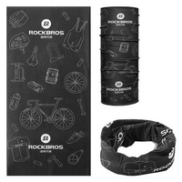 ROCKBROS TJ-001 Cycling Outdoor Sport Scarf Plus Velvet Keep Warm Flexible Breathable