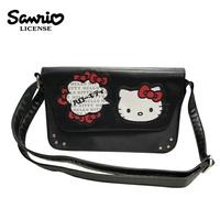 【正版授權】凱蒂貓 掀蓋式 斜背包 側背包 Hello Kitty 三麗鷗 Sanrio