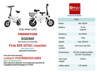 DYU e-scooter (Authorized dealer) promotion free $ 50 NTUC voucher