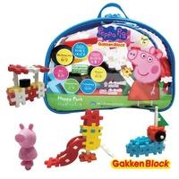 【日本學研】Gakken 益智積木 快樂公園組合 佩佩豬(STEAM教育玩具)