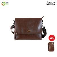 Arrow กระเป๋าสะพายแอร์โร่ รุ่นคลาสสิค แบ็ค#113409