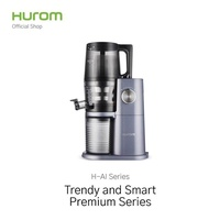 Hurom เครื่องคั้นนำ้ผลไม้สกัดเย็น รุ่น H-AI (Premium Series) Blue Gray