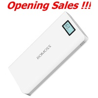 Romoss Sense 6 LCD 20000mAh Powerbank 2.1A Fast Charging ~ Ready Stock ~ Fast Delivery ~