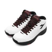 男 DIADORA 迪亞多那 專業經典2E寬楦籃球鞋 絕地悍將系列 白黑紅 5529