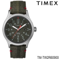 Timex TM-TW2R60900 นาฬิกาข้อมือผู้ชาย สายผ้าไนล่อน/หนัง สีเขียว