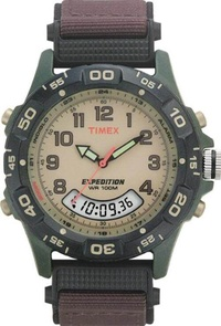 Timex T45181 Mens Expedition Trail Chronograph Resin Combo Watch