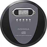 Insignia NS-P4112 Portable CD Player with Skip Protection for CD, CD-R, CD-RW - Includes Headphones - intl