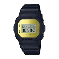 Casio G-Shock Special Color Metallic Mirror Face Black Resin Band Watch DW5600BBMB-1D DW-5600BBMB-1D