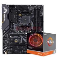 AMD 锐龙 R5 3600X 3700X 3900X CPU+华硕 X570 WIFI版 主板套装 AMD锐龙 R9 3900X 盒装CPU 微星B450M MORTAR 迫击炮 主板