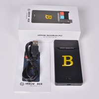 Portable Ultra-thin for JUUL Electronic Cigarette Charger Mobile Charging Pods Case Holder Box