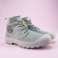 【iSport】Palladium PAMPA LITE + CUFF WP高統靴 防潑水 76259011 男女款 灰
