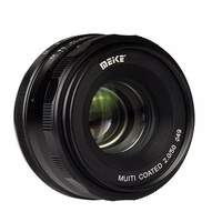 Meike 50mm F2.0 Fixed Manual Focus Lens for Sony E-mount Mirrorless Camera