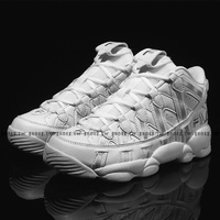 Shoestw【1-B506S-114】FILA SPAGHTTI 95 復刻籃球鞋 中筒 皮革 白灰 男女尺寸都有 FS1HTA3152X