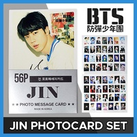 JIN BTS BANGTAN BOYS - MINI POSTCARD PHOTOCARD SET 56pcs