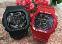 支持G打擊一對G-SHOCK BABY-G一對表一對手錶卡西歐2瓶一套g打擊嬰兒g dejitaruanadeji GW-M5610-1BJF GWX-5600C-4JF人氣包免費的聖誕禮物 Jewelry time Murata of watch