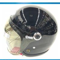 GP5 GP-5 307 泡泡鏡 黑色 小帽體 騎士帽 復古帽 內襯全可拆 安全帽《裕翔》