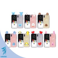 BTS BT21 Official Authentic Product Character Mirror Cell Phone Case