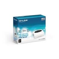 【也店家族 】_公司貨_TP-LINK TL-PS110U 乙太網路印表機伺服器 (1埠)