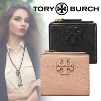 ✨Limited special price ★ An additional 10% off coupon for 11520 yen! TORY TORY BURCH / Tory Burch ☆ McGRAW MINI FOLDABLE WALLET Purse Mini Purse Directly managed outlet merchant