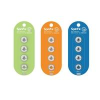 「JM-Plus 加煒電子」【SpinFit CP145】矽膠耳塞 配戴穩固 高舒適度 人聲突出 感情豐富 一卡兩對