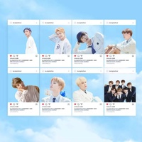 BTS Group Transparent Photocard