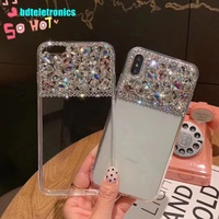 Vivo Y97 Y95 Y91 Y93 Y83 Y71 Y55 Y53 X21 UD X20 Plus Luxury Rhinestone  Case