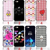 bts bangtan boys phone case bt21 cartoon case