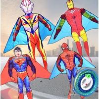 奧特曼風箏 超人風箏 鋼鐵俠風箏 男孩子喜歡 蜘蛛俠風箏