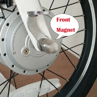 original front and rear back fender steel magnetic buckle with hole xiaomi mijia qicycle ef1