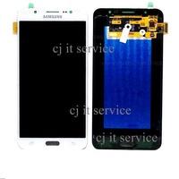 อะไหล่มือถือหน้าจอชุด LCDพร้อมทัสกรีน Samsung Galaxy J7(2016) /J710 - สีขาว