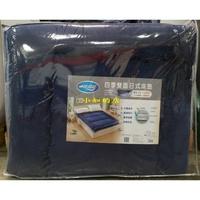 【小如的店】COSTCO好市多代購~睡綿綿 四季雙人雙面日式床墊152*190cm(附贈純棉針織枕套+床墊布套)
