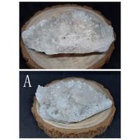 白水晶簇(附木座) 水晶 風水 能量