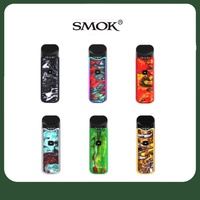 ชุดบุหรี่ไฟฟ้า Smok Nord Kit System Regular & Nord Resin Kit100mah built-in battery cartridge 3ML V