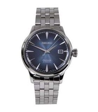 Seiko Presage Cocktail Automatic 50m Blue Dial 100% Original Analog Date Mens Dress Watch w/ Warranty SRPB41J1 SRPB41J SRPB41